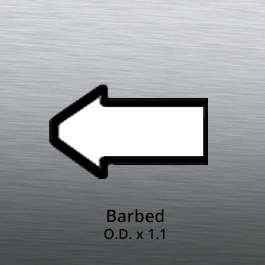 Tube End forming - tube end forming - barbed end