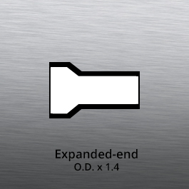 Tube End forming - tube end forming - expanded end