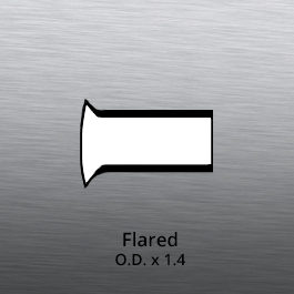 Tube End forming - tube end forming - flared end