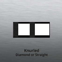 Tube End forming - tube end forming - knurled end