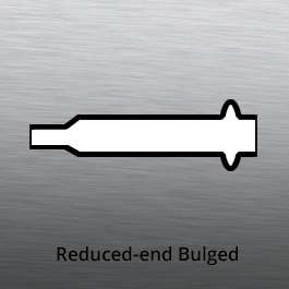 Tube End forming - tube forming - reduced end with bulge