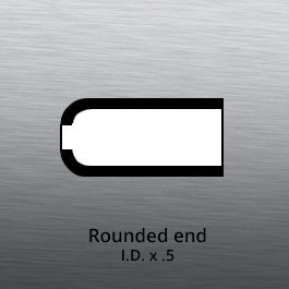 Tube End forming - tube end forming - rounded end